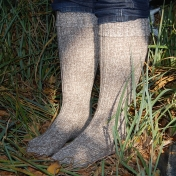 Festival Boot Socks for Adults in Wool/Alpaca