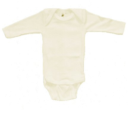 Extra-fine Silk & Organic Cotton Baby-body