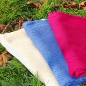 Organic Merino Wool Knitted Blanket by Relax