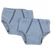 2-Pack Boys' Pants in Organic Cotton