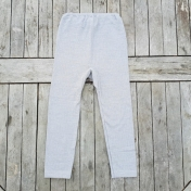 Children's Leggings in Organic Cotton Wool & Silk