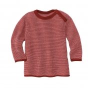 Baby Jumper in Organic Merino Wool with Shoulder Button