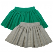 Knitted Wool Skirt in Merino Wool by FUB