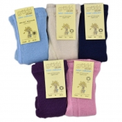 Baby Tights in Pure Organic Wool