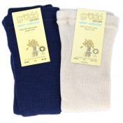 Pure Organic Wool Footless Tights