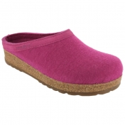 Haflinger Felted Wool Slipper With Cork And Latex Sole