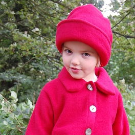 Warm Fleecy Girls' Wool Hat