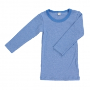 Organic Cotton Fine Rib Long Sleeve T-Shirt