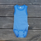 Organic Cotton Sleeveless Bodysuit