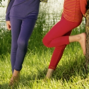 Wool/Silk Leggings 2-16yrs