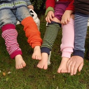 Legwarmers in Merino Wool