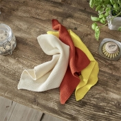 Organic Cotton 2-Pack Knitted Dish Cloth