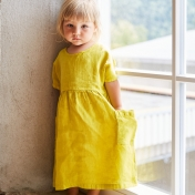 Eden Dress in Organic Linen