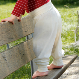 Most Comfy Baby Trousers in Wool/Silk
