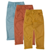 Boy's Straight Leg Jeans in Organic Cotton