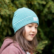 Wool and Silk Beanie Hat