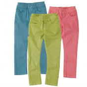 Girl's Slim Fit Jeans in Organic Cotton