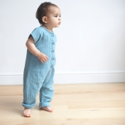 Organic Cotton Muslin Jumpsuit