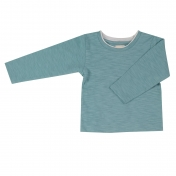 Soft Long-Sleeved Shirt in 100% Organic Cotton