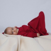 Wool and Silk Terry Sleeping Bag With Arms