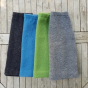 Women's Skirt in Wool Crepe