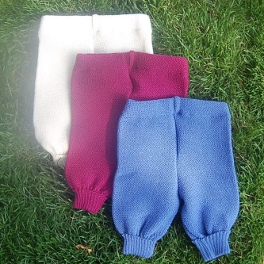 Knitted Merino Wool Trousers