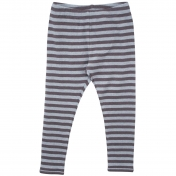 Soft & Stripy leggings in Organic Cotton Melange