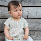 Woven Organic Cotton Baby Dress