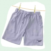 Pretty Simple Girl's Shorts in Soft Organic Cotton