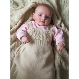 Knitted Merino Wool Sleeping Bag by Disana