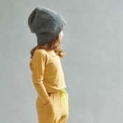 Long-Sleeved Vest in Supersoft New Zealand Merino Wool