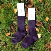 2-pack - Knee-High Wool Rich Children's Socks, Machine Washable