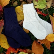 2-pack - Organic Thick Wool Socks for All