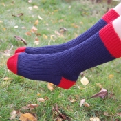 Toe and Heel Wool Socks