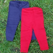 Fine Merino Wool Baby Leggings