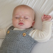 Knitted Organic Merino Wool Sleeping Bag by Disana