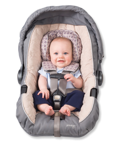 62276ff4b54 ... though you can get some that lie flat across the back of the car which  is good for sleeping newborns. Many double as a baby-carrier ...