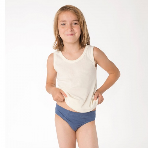 3-Pack of Boys Pants in Pure Organic Cotton