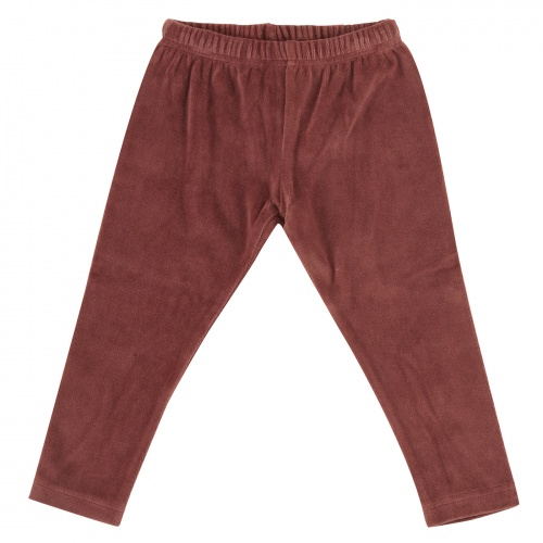 Soft Organic Cotton Velour Leggings