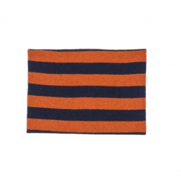 Carey Striped Neck Warmer in Pure Baby Alpaca