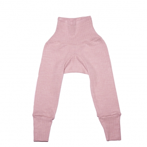 Baby Leggings in Organic Cotton Wool & Silk