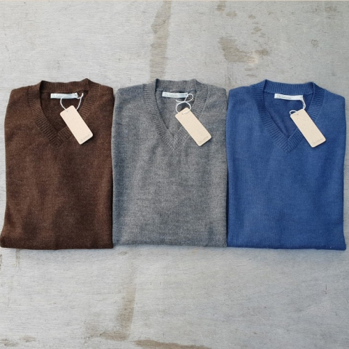Men's Pure Baby Alpaca Jumper