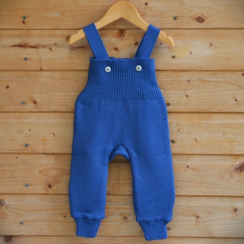 Dungarees In Wool By Disana Soft Flexible And
