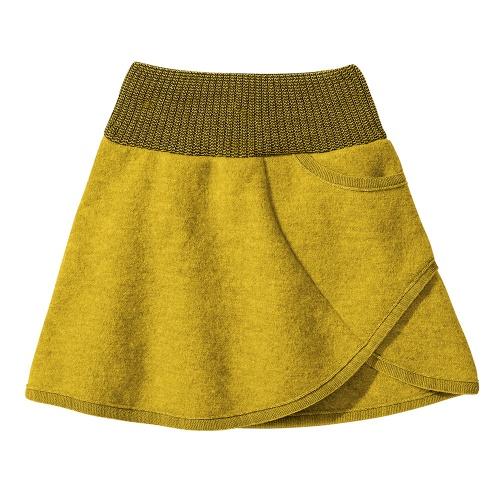 74c36821f01 Boiled Organic Merino Wool Skirt by Disana