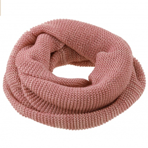 Loop Scarf in Knitted Organic Merino Wool by Disana