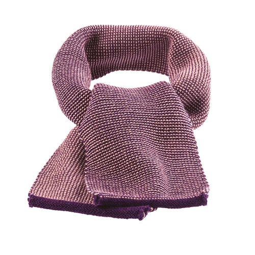 Knitted Organic Merino Wool Scarf by Disana