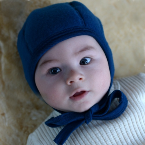 Soft Merino Wool Fleece Bonnet