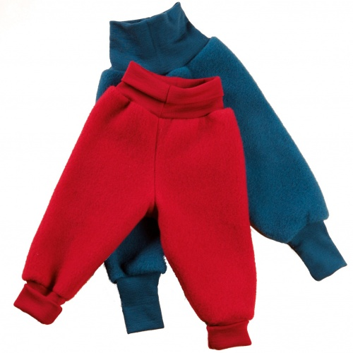 Angel Baby Trousers in Merino Wool Fleece