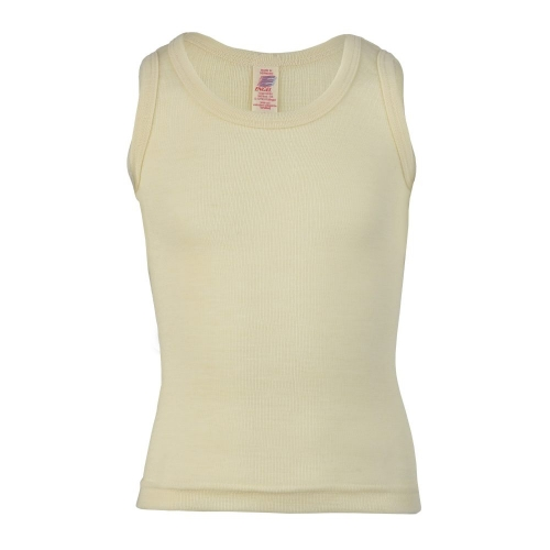 Organic Merino Wool Sleeveless Vest Top