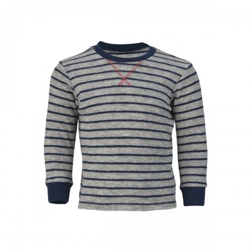Soft Merino Wool Terry Sweater Children S Sweater In Merino Wool Terry